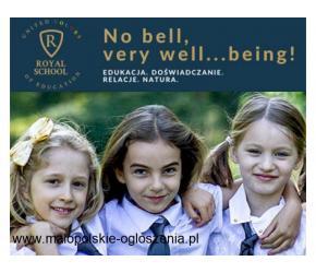 REKRUTACJA TRWA ► Szkoła Podstawowa Royal School