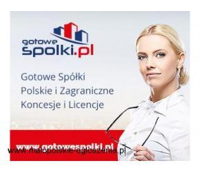 Gotowe Spółki Słowackie, Czeska, w Anglii, w Hiszpanii, w Niemczech Bułgarii, Łotewskie,KONCESJE OPC